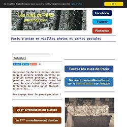 Paris d'antan en vieilles photos et cartes postales