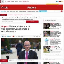 «Le vieillissement, une bombe à retardement» - Maintien à domicile à Angers - 26/09/16