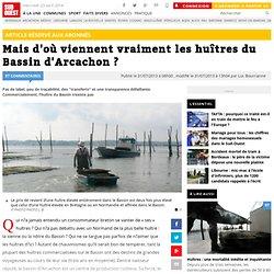 SUD OUEST 31/07/13 Mais d'où viennent vraiment les huîtres du Bassin d'Arcachon ?