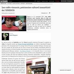 Les cafés viennois, patrimoine culturel immatériel de l'UNESCO