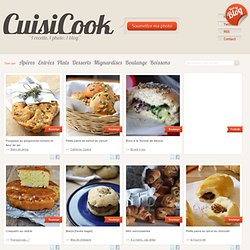 Recettes - Boulange - Boulangerie - Pains - Viennoiseries - Photographie culinaire - Blogs culinaires - Cuisine − Cuisicook