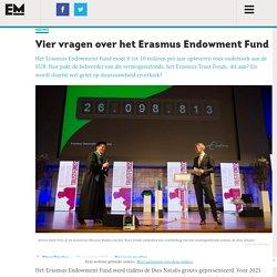 Vier vragen over het Erasmus Endowment Fund