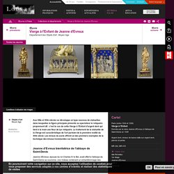 Vierge à l'Enfant de Jeanne d'Evreux