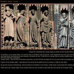 Vierges sages e Vierges folles Cathédrale Strasbourg