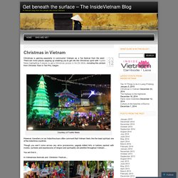 Get beneath the surface - The InsideVietnam Blog