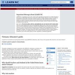 Vietnam: Educator's guide