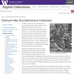 Vietnam War Era Ephemera Collection
