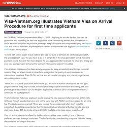 Visa-Vietnam.org illustrates Vietnam Visa on Arrival Procedure for first time applicants