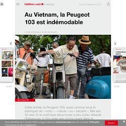 Au Vietnam, la Peugeot 103 est indémodable