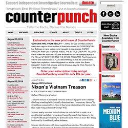 Nixon's Vietnam Treason
