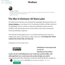 The War in Vietnam: 50 Years Later – Amit Shah