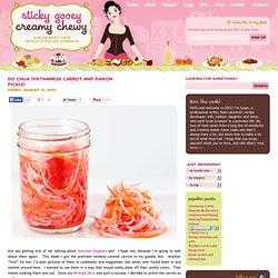Do Chua (Vietnamese Carrot and Daikon Pickle)