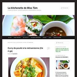 La kitchenette de Miss Tâm