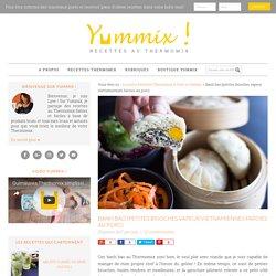 Banh bao {petites brioches vapeur vietnamiennes farcies au porc} au Thermomix