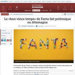 Le «bon vieux temps» de Fanta fait polémique en Allemagne