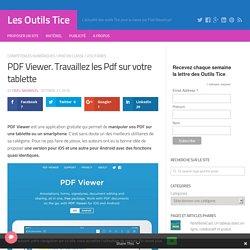 PDF Viewer. Travaillez les Pdf sur votre tablette – Les Outils Tice