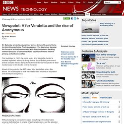 Viewpoint: V for Vendetta and the rise of Anonymous