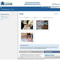 Home - Viewpoints Resources - University of Ulster - Office for Digital Learning Wiki