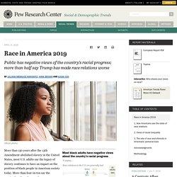 Views on Race in America 2019