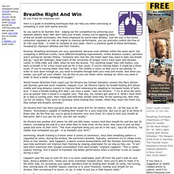 Viewzone: Breathing Right!