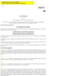 Leyes desde 1992 - Vigencia expresa y control de constitucionalidad [LEY_0151_1994]