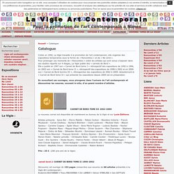 La Vigie Art Contemporain » Catalogue