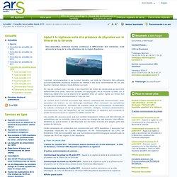 ARS AQUITAINE - Appel à la vigilance suite à la présence de physalies sur le littoral de la Gironde