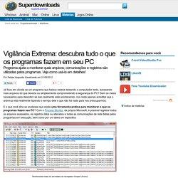 Vigilância Extrema: descubra tudo o que os programas fazem em seu PC