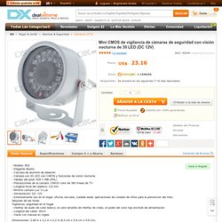 Mini CMOS Surveillance Security Camera with 30-LED Night Vision (DC 12V