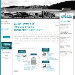 Vigipol - Quels sont les risques liés au transport maritime ?