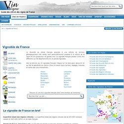 Vignoble de France - Liste des vignobles français