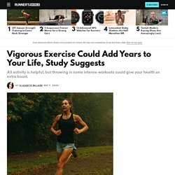 HIIT Can Add Years to Your Life