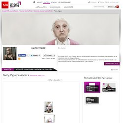 Fanny Viguier - Retrouvez Fanny Viguier sur SFR Jeunes Talents