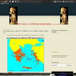 Le monde grec entre le VIIIème et le VIème siècle avant J.-C - Le blog de mgouralnik