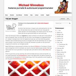 Vijf jaar bloggen