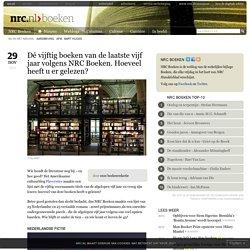 Dé vijftig boeken van de laatste vijf jaar volgens NRC Boeken. Hoeveel heeft u er gelezen?