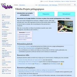 Encyclopédie Vikidia - Projets pédagogiques