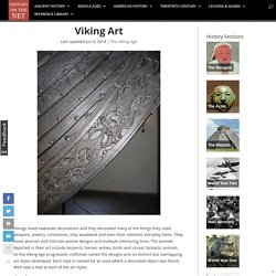 Viking Art - History on the Net