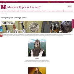 Viking Costumes & Weapons