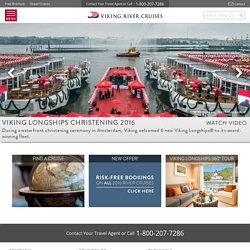 Viking River Cruises - world's leading river cruise line, by far® Official Site