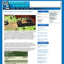 Robot Viking » » Streamlining Mass Combat in 4E with Throngs and Squads