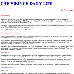 Vikings Daily Life