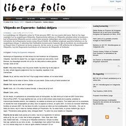 Vikipedio en Esperanto - baldaŭ dekjara