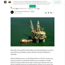 Viktigheten av oljeboring