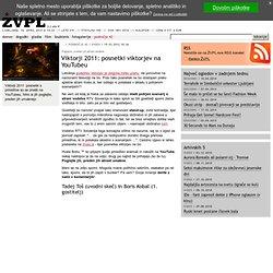 Viktorji 2011: posnetki viktorjev na YouTubeu