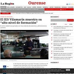 """El IES Vilamarín muestra su """"alto nivel de formación"""