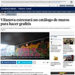 Vilanova estrenará un catálogo de muros para hacer grafitis