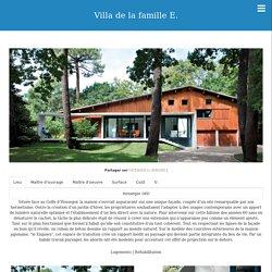 Villa de la famille E.