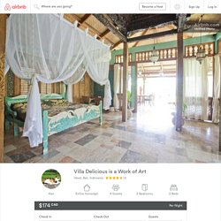 Villa Delicious is a Work of Art - Villas for Rent in Ubud
