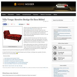 Villa Venga: Kreative Bezüge für Ikea-Möbel | Home Insider